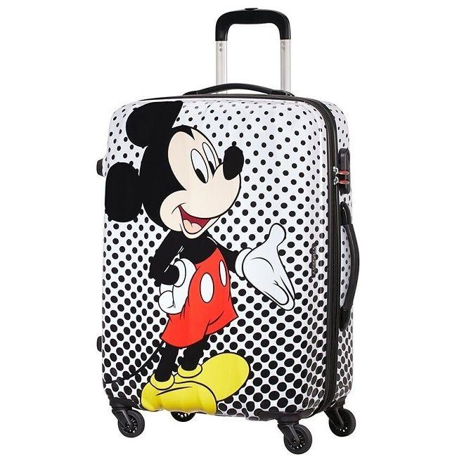 Cestovný kufor American Tourister Disney Legends Polka Dot Mickey Spinner 65 19C*007 (64479)