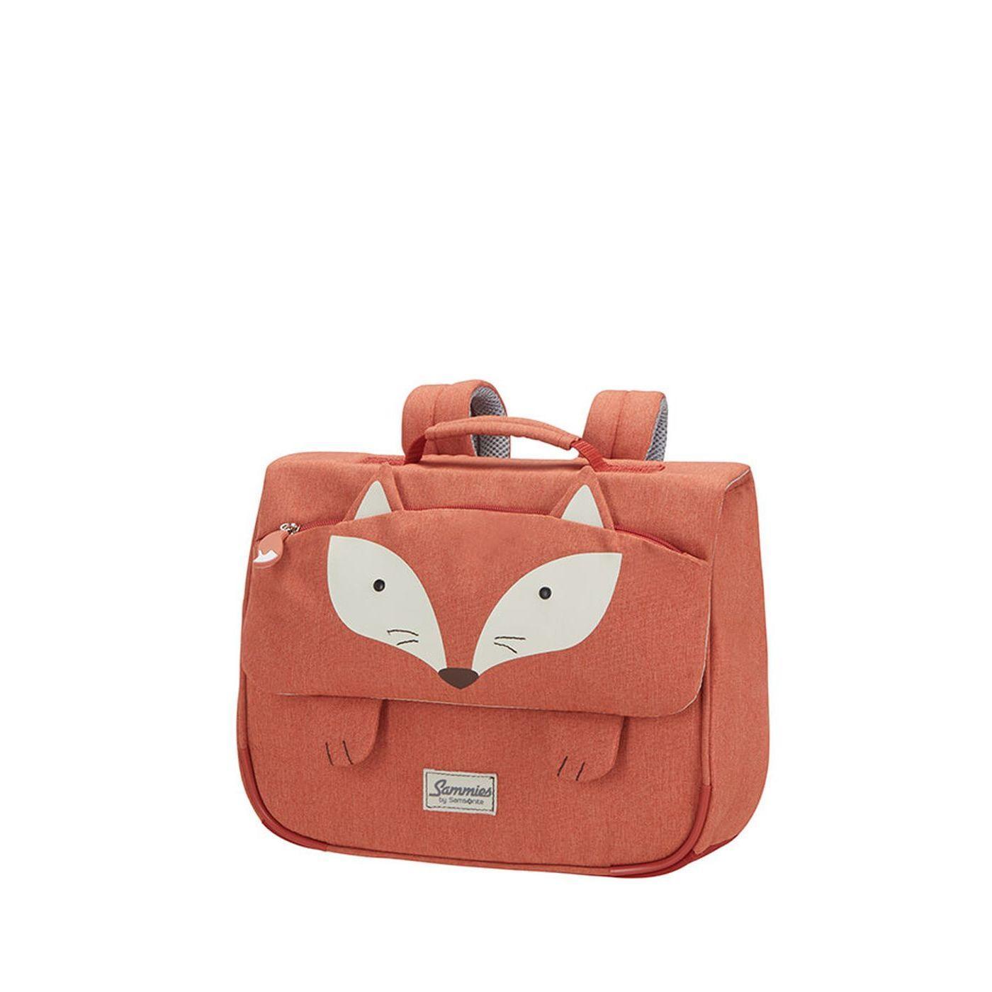 6528ed1840 Detská školská taška Samsonite Happy Sammies Schoolbag S Fox William CD0 018