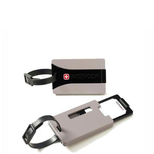 Identifikačný štítok Wenger Security ID Luggage Tags-set of 2 WE6186