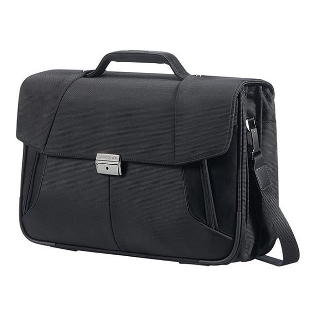 """Aktovka Samsonite XBR Briefcase 3 Gussets 15,6"""" 08N*010"""