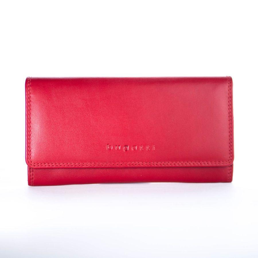 Dámska kožená peňaženka bugatti 493533