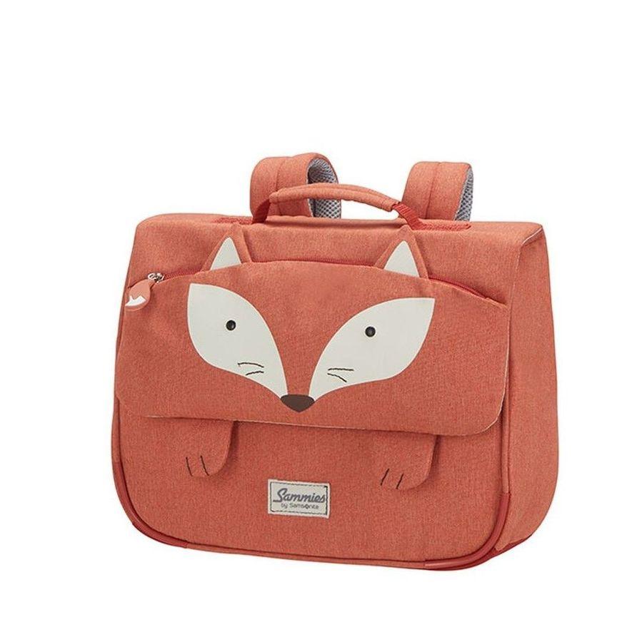 Detská školská taška Samsonite Happy Sammies Schoolbag S Fox William CD0*018