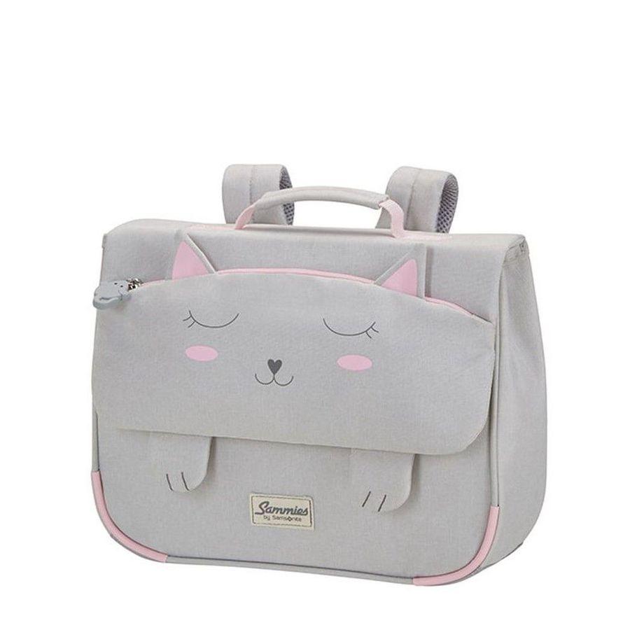 Detská školská taška Samsonite Happy Sammies Schoolbag S Kitty cat CD0*006