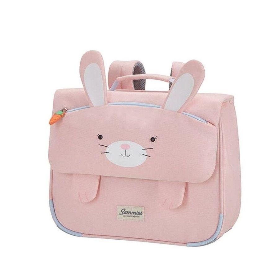Detská školská taška Samsonite Happy Sammies Schoolbag S Rabbit Rosie CD0*002