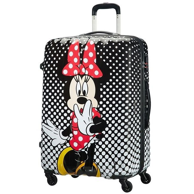 Cestovný kufor American Tourister Disney Legends Polka Dot Minnie Spinner 75 19C*008