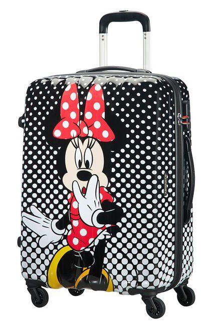 Cestovný kufor American Tourister Disney Legends Polka Dot Minnie Spinner 65 19C*007