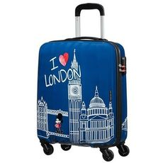 Cestovný kufor American Tourister Disney Legends Alfatwist Mickey London Spinner 55 19C*019