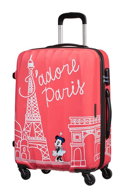 Cestovný kufor American Tourister Disney Legends Minnie Paris Spinner 75 19C*008