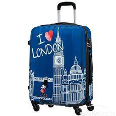 Cestovný kufor American Tourister Disney Legends Mickey London Spinner 65 19C*007