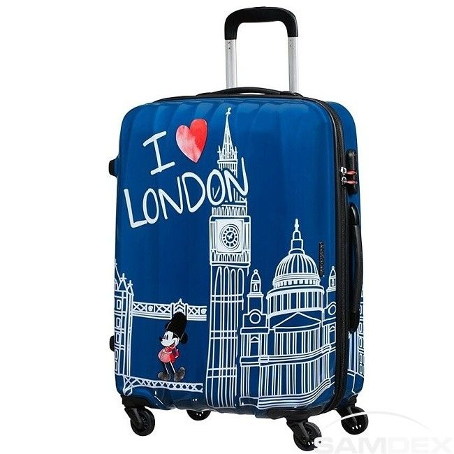 Cestovný kufor American Tourister Disney Legends Mickey London Spinner 65 19C*007