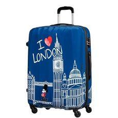 Cestovný kufor American Tourister Disney Legends Mickey London Spinner 75 19C*008