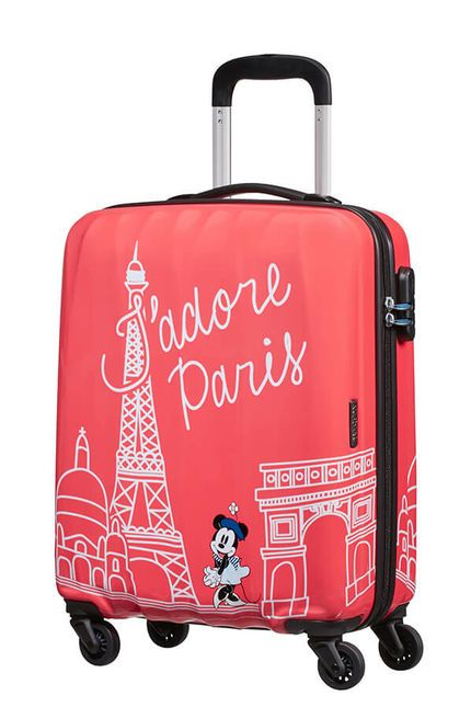 Cestovný kufor American Tourister Disney Legends Alfatwist Minnie Paris Spinner 55 19C*019 (92699)