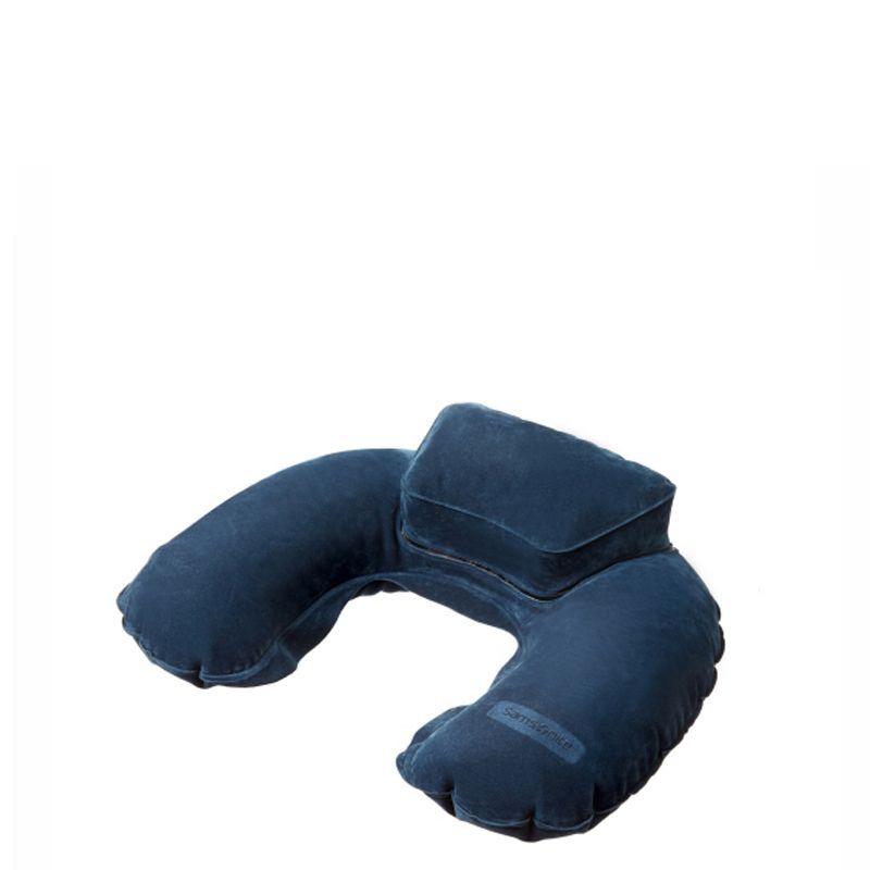 Nafukovací cestovný vankúš Samsonite Inflatable Double Comfort Travel Pillow U23*302
